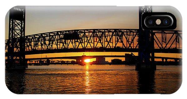 Sunset Bridge 5 IPhone Case
