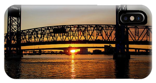 Sunset Bridge 5 IPhone Case