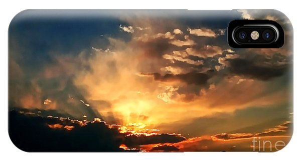 Sunset Of The End Of June IPhone Case