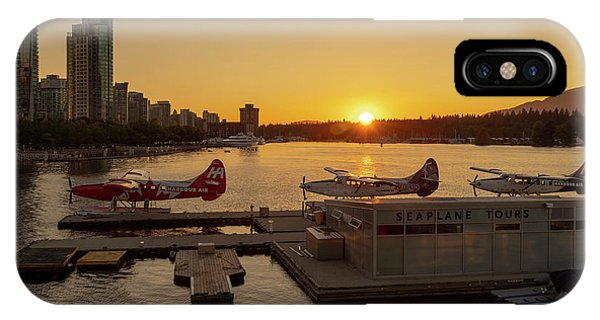 Sunset By The Seaplanes IPhone Case