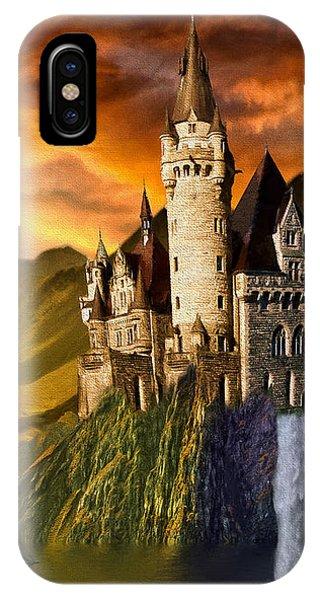 Sunset Castle IPhone Case