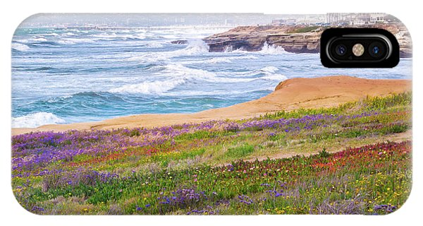 Sunset Cliffs In Spring IPhone Case