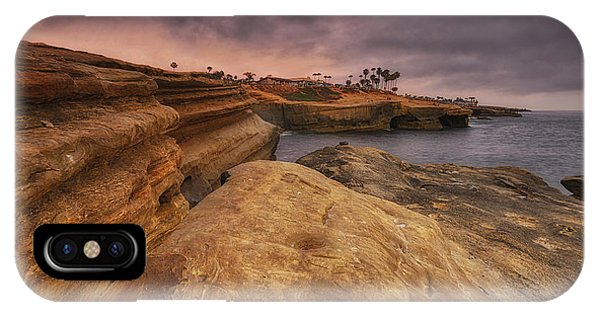 Sunset Cliffs - Point Loma - San Diego IPhone Case
