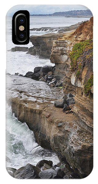 Sunset Cliffs San Diego Portrait IPhone Case
