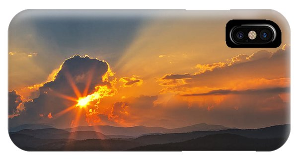 Sunset - Close Another Day IPhone Case