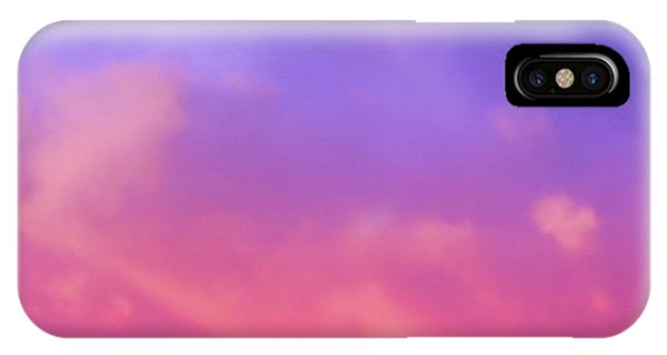 Sunset Clouds IPhone Case