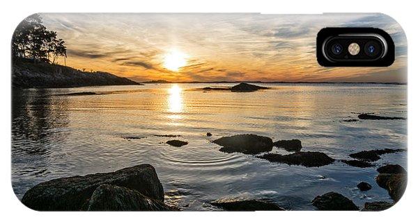 Sunset Cove Gloucester IPhone Case