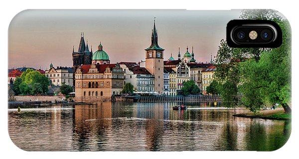 Sunset Cruise Prague IPhone Case