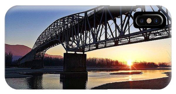 Fraser River, Bc  IPhone Case