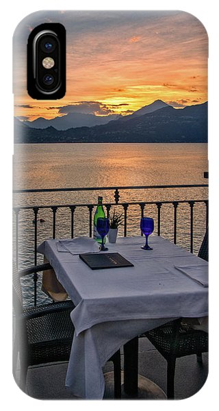 Sunset Dining IPhone Case