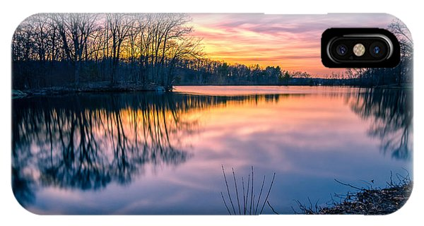 Sunset-dorothy Pond IPhone Case