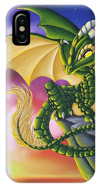 Sunset Dragon IPhone Case