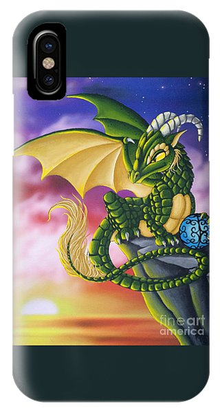Sunset Dragon IPhone Case