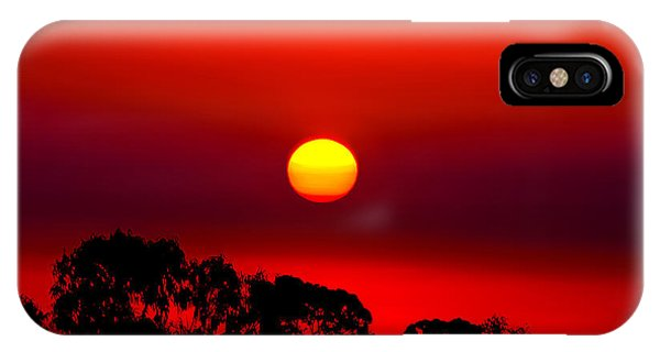 Night iPhone Case - Sunset Dreaming by Az Jackson