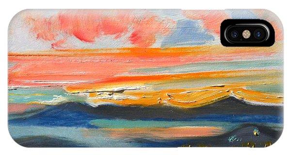 Sunset El Cerrito Ca IPhone Case