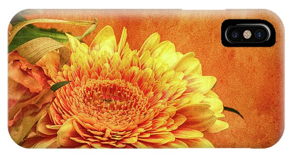 Sunset Flowers IPhone Case