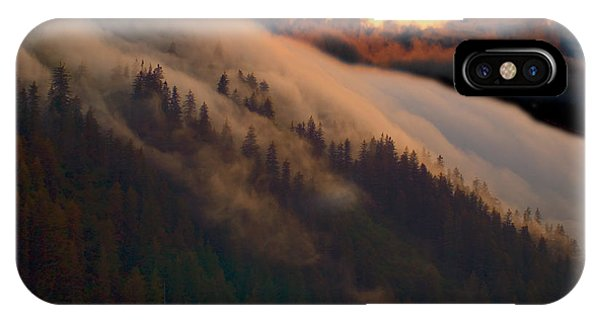 Sunset Fog IPhone Case