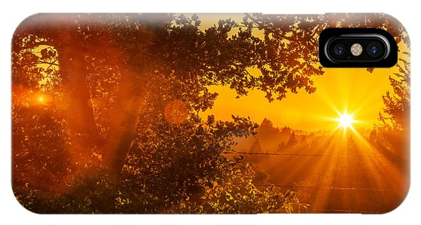 Sunset Fog Over The Pacific #3 IPhone Case