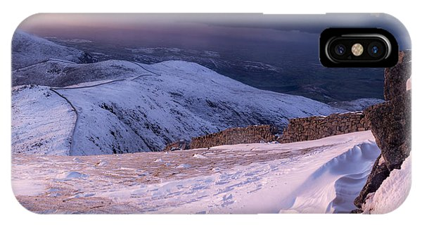 Sunset Following The Mourne Wall IPhone Case