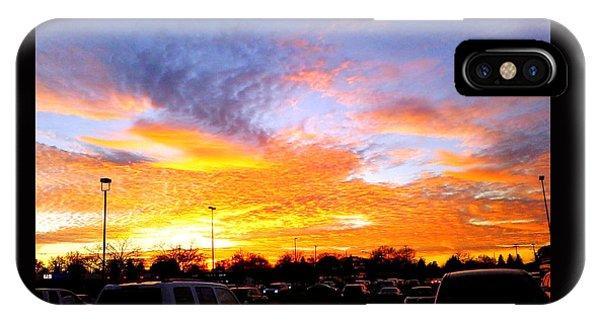 Sunset Forecast IPhone Case