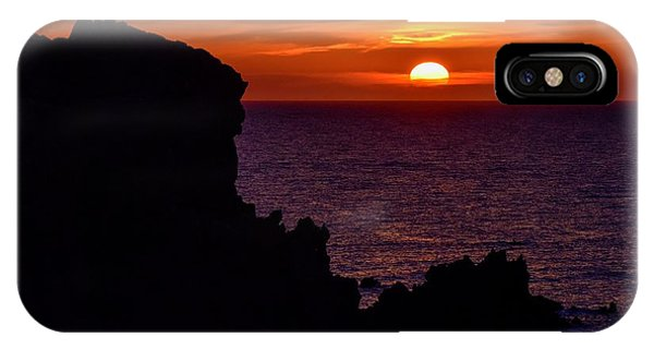 Sunset From Costa Paradiso IPhone Case
