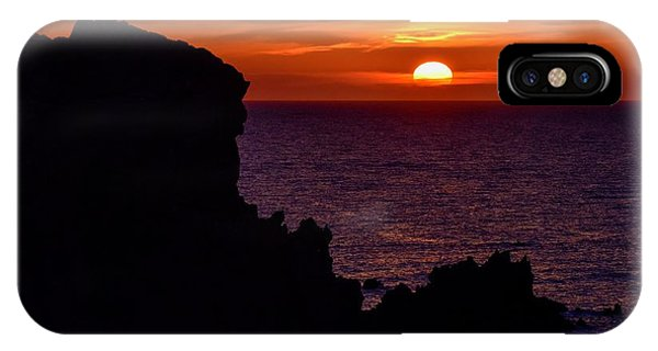 IPhone Case featuring the photograph Sunset From Costa Paradiso by Geoff Smith