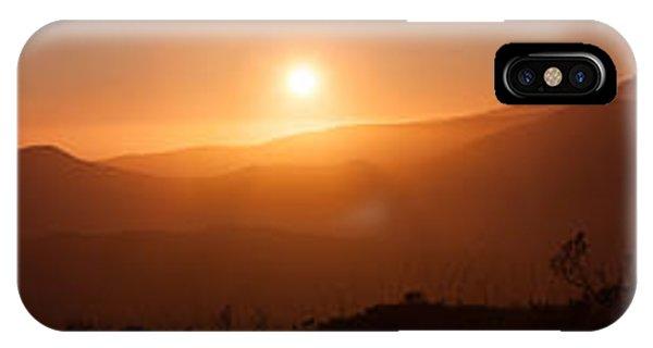 Sunset From Marine Headlands San Francisco IPhone Case