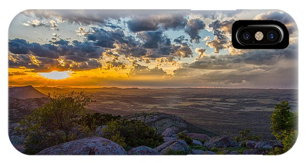Sunset From The Heavens IPhone Case