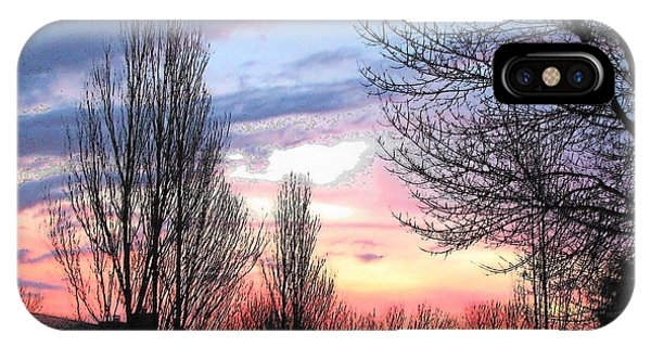 Sunset From Tifton Green IPhone Case