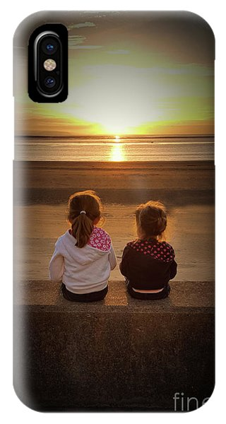 Sunset Sisters IPhone Case
