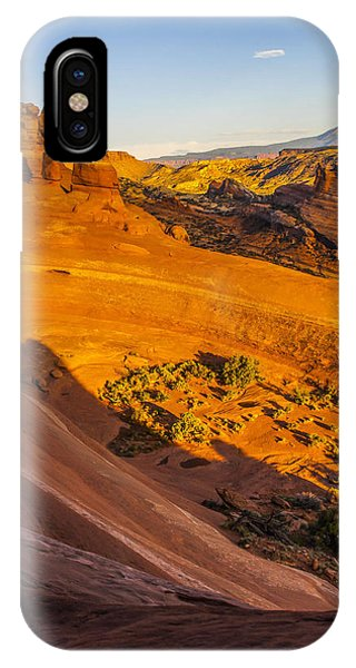 Sunset Glow On Delicate Arch IPhone Case