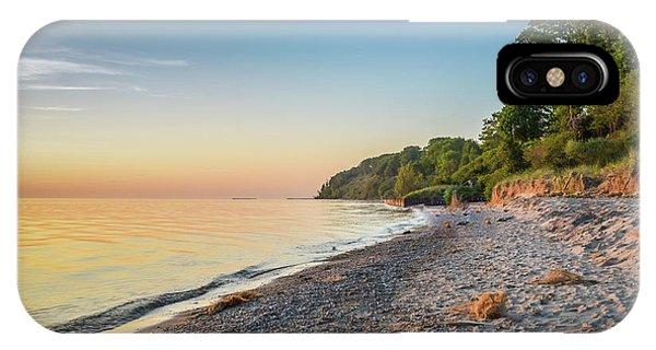 Sunset Glow Over Lake IPhone Case