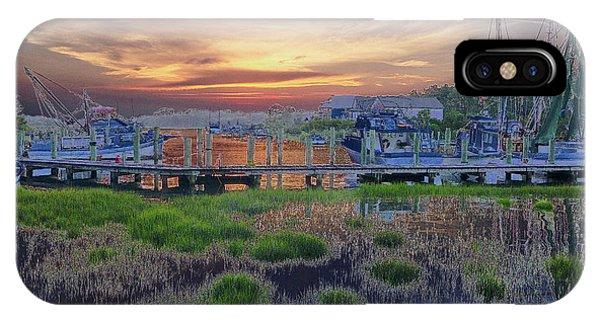 Sunset Harbor Dream IPhone Case