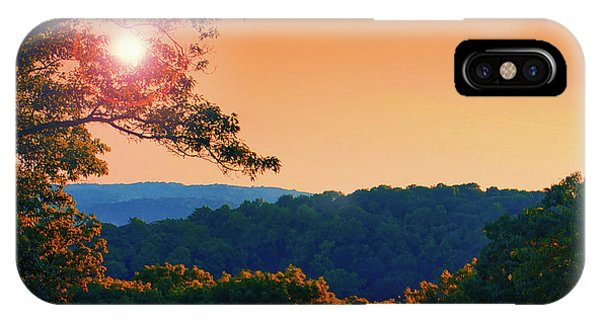 Roxbury iPhone Case - Sunset Hills by Mark Miller