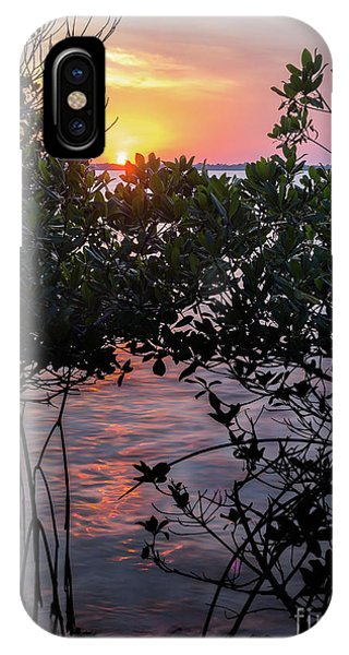 Sunset, Hutchinson Island, Florida  -29188-29191 IPhone Case