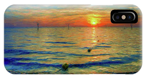 Sunset Impressions IPhone Case