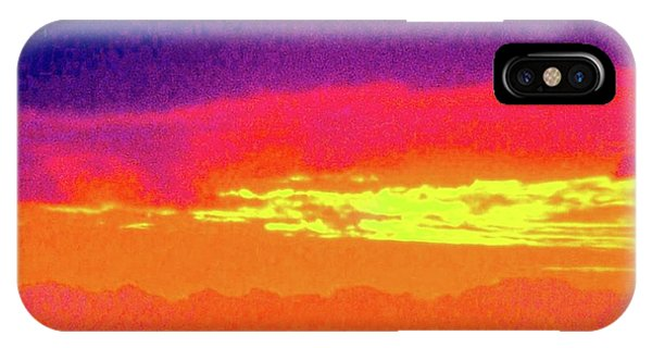 Sunset In Abstract 500 IPhone Case