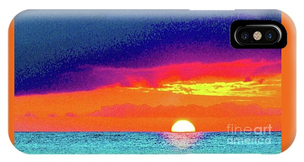 Sunset In Abstract  IPhone Case