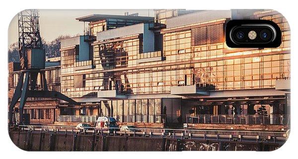 Sunset In Altona Hamburg IPhone Case