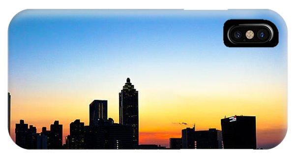 Sunset In Atlaanta IPhone Case