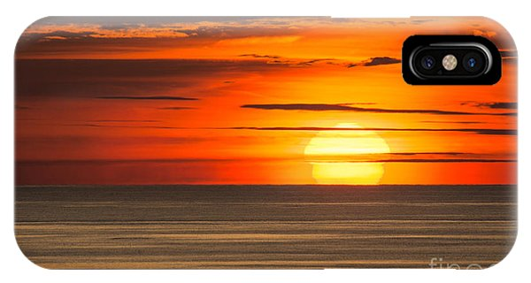 Sunset In Bermuda IPhone Case