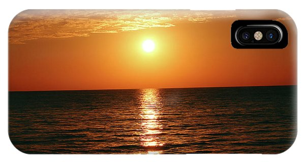 Sunset In Bimini IPhone Case