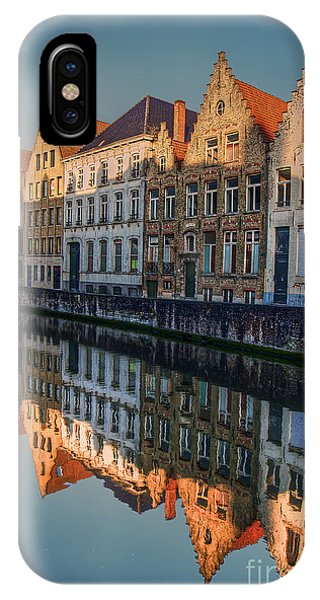 Sunset In Bruges IPhone Case