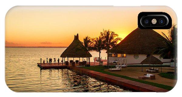 Sunset In Cancun IPhone Case