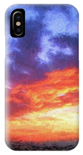Sunset In Carolina IPhone Case