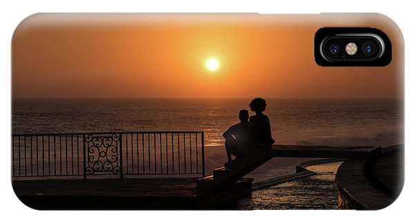 Sunset In Cerritos IPhone Case