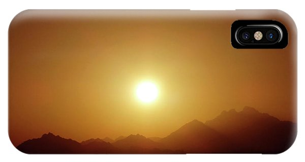 Sunset In Egypt 7 IPhone Case