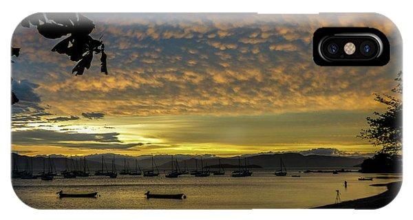 Sunset In Florianopolis IPhone Case