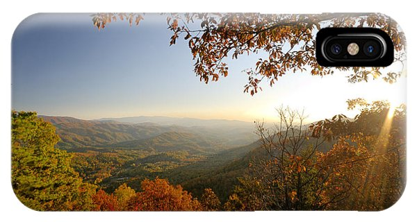 Sunset In Great Smoky Mountains Phone Case by Darrell Young