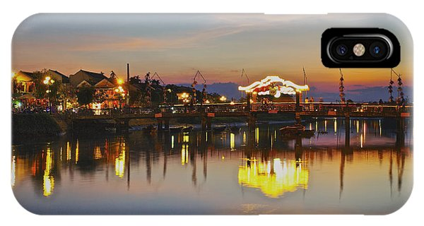 Sunset In Hoi An Vietnam Southeast Asia IPhone Case